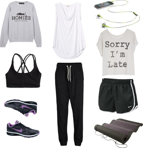 That awkward blog - My new sport outfit with Nike sneakers
