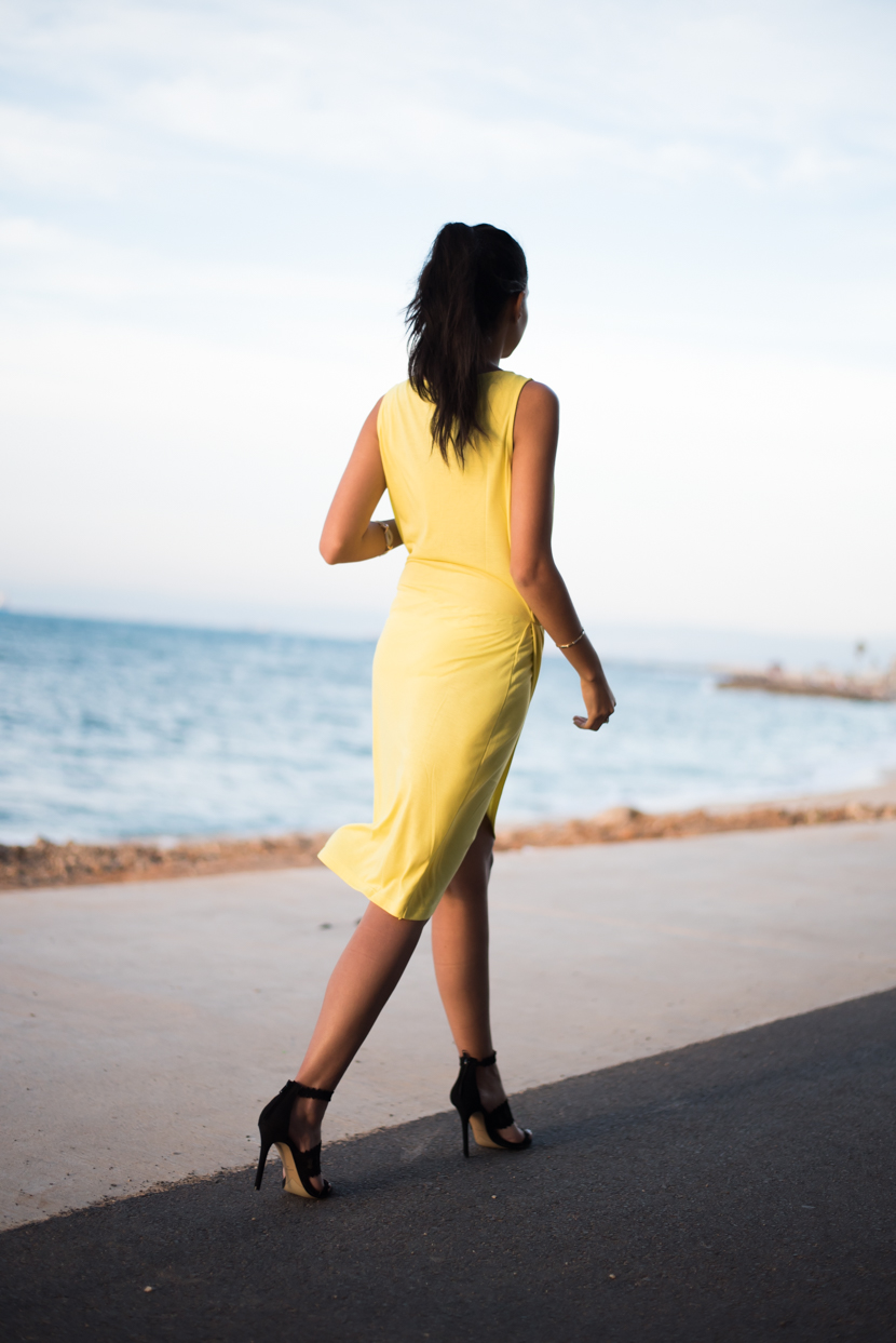 summer dress, bright clothing, rocking a yellow dress, personal style
