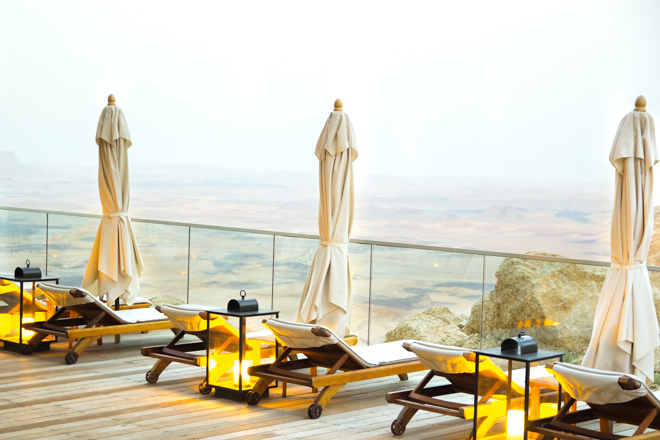 Why Delilah- Dream Vacation at Beresheet, Mitzpe Ramon, Israel. desert views
