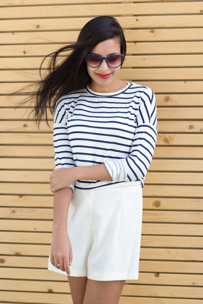 Why Delilah?- Stripes, red lipstick, classics, basic, essentials, timeless