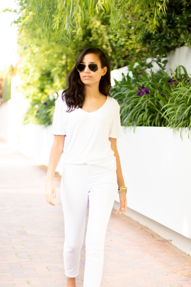 Why Delilah?-  The All White Look